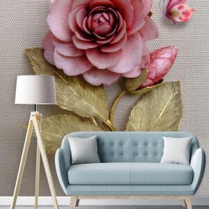 پوستر دیواری طرح گل رز DA-3154