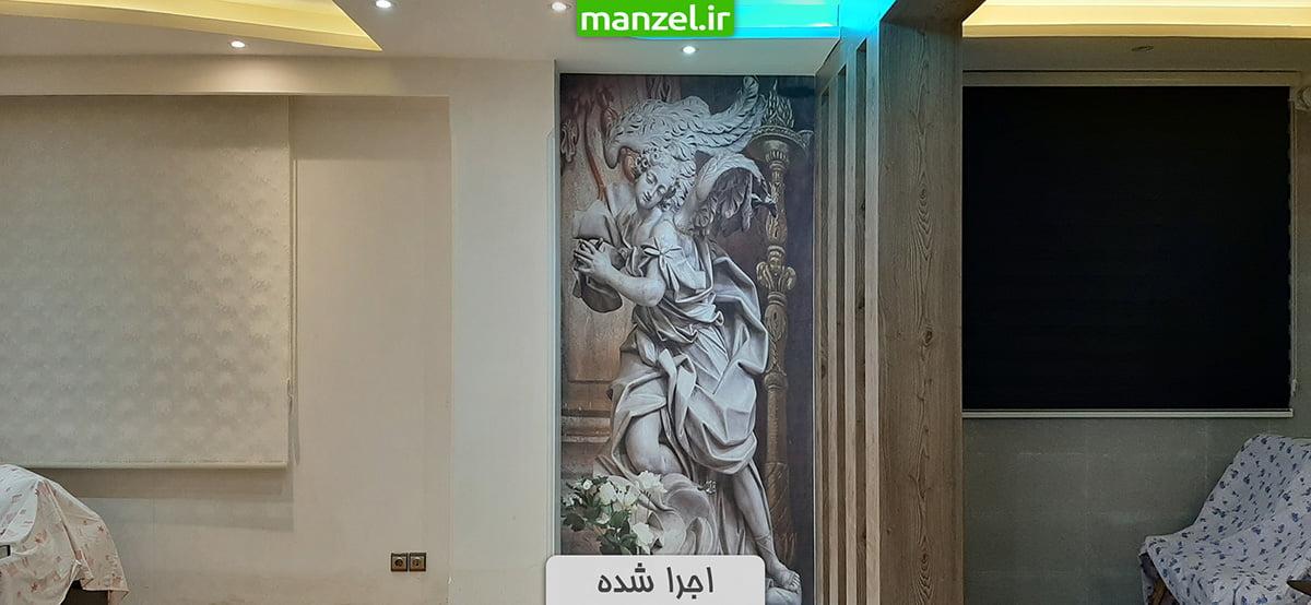 پوستر دیواری مجسمه اجرا شده