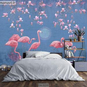 پوستر دیواری طرح حیوانات DA-3159