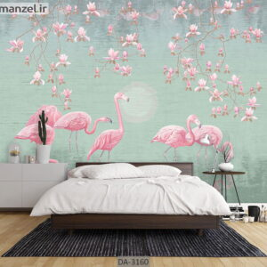 پوستر دیواری طرح حیوانات DA-3160