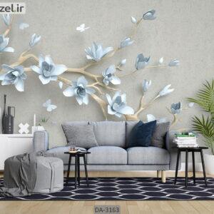 پوستر دیواری طرح درخت و شکوفه DA-3163