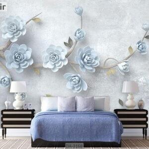 پوستر دیواری طرح درخت و شکوفه DA-3168