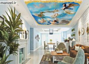 پوستر سقفی طرح فرشته DP-3222