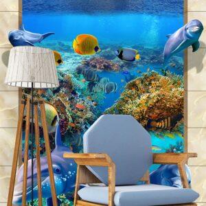 پوستر دیواری طرح دریا و ساحل DP-3226