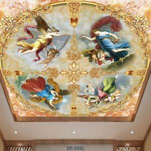 پوستر سقفی طرح فرشته DP-3241