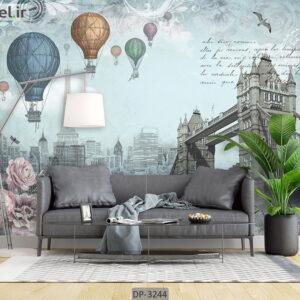 پوستر دیواری طرح پل برج لندن DP-3244