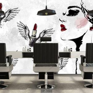 پوستر دیواری طرح سالن زیبایی DP-3593