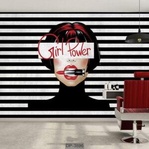 پوستر دیواری طرح سالن زیبایی DP-3596
