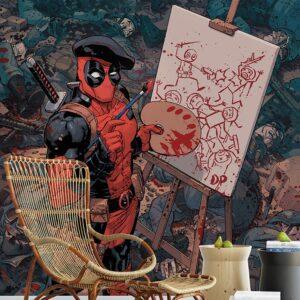 پوستر دیواری کارتونی طرح مرد عنکبوتی DA-3649