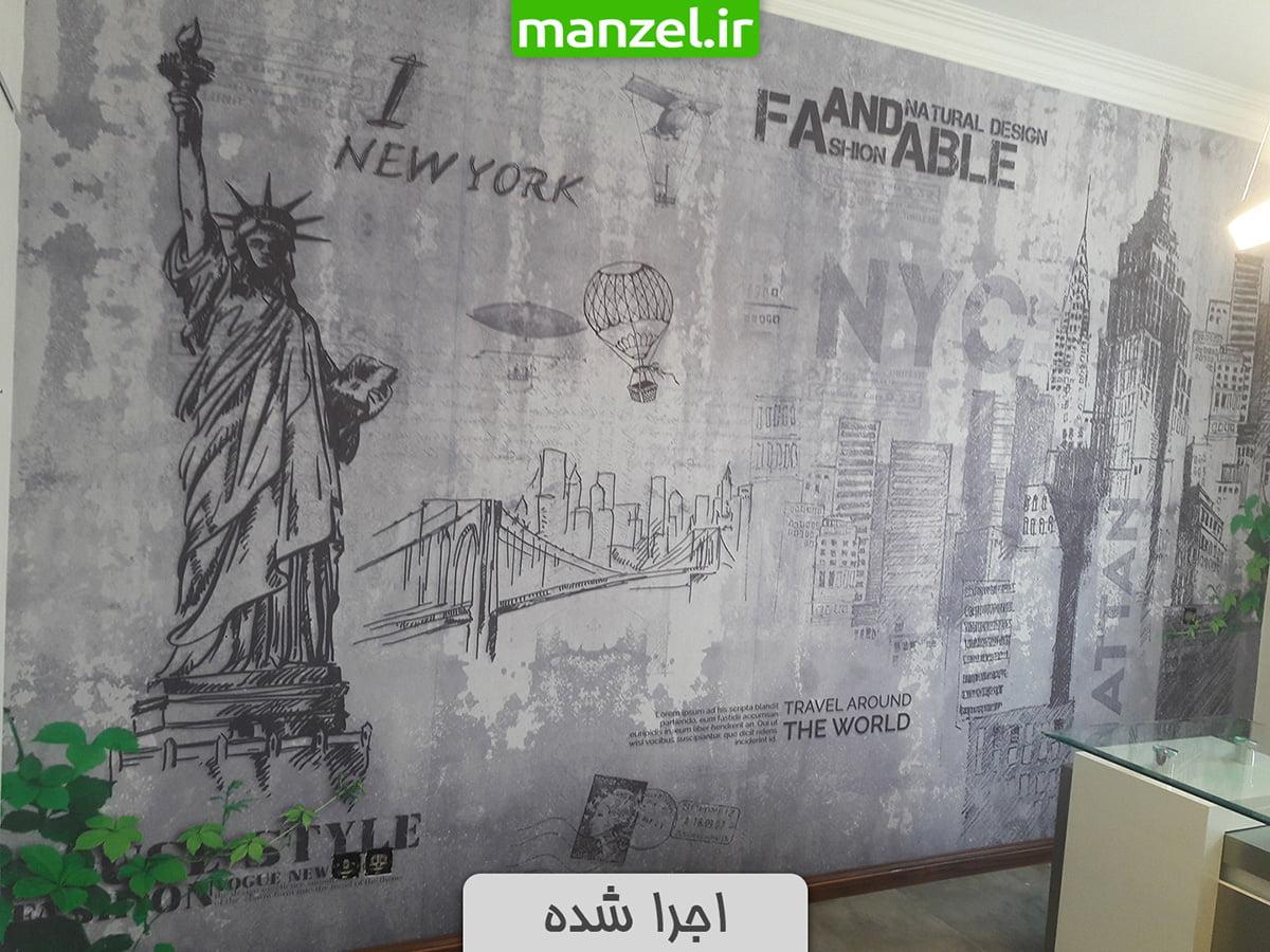 کاغذ دیواری مجسمه آزادی