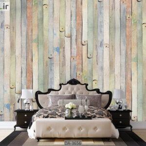 پوستر دیواری طرح چوب DA-3656