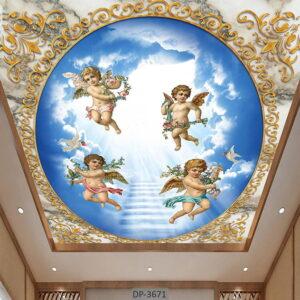 پوستر دیواری طرح فرشته DP-3671