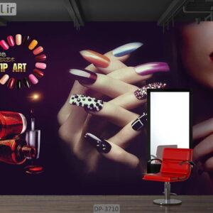 ذپوستر دیواری طرح سالن زیبایی DP-3710