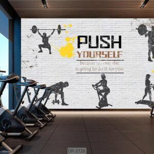 پوستر دیواری طرح باشگاه بدنسازی DP-3720