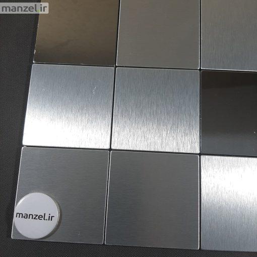 کاشی بین کابینتی آلومینیومی آینه ای کد 212