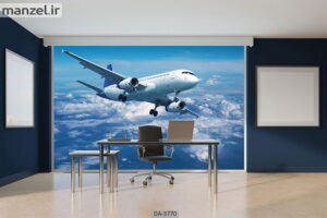 پوستر دیواری طرح هواپیما ۳۷۷۰-DA