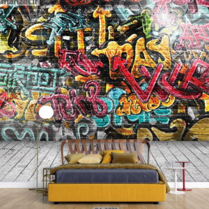 پوستر دیواری طرح گرافیتی 3773-DA