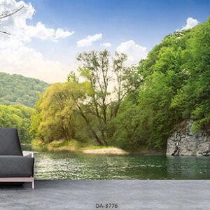 پوستر دیواری طرح طبیعت 3776-DA