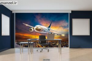 پوستر دیواری طرح هواپیما ۳۷۸۳-DA
