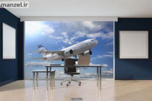 پوستر دیواری طرح هواپیما ۳۷۹۰-DA