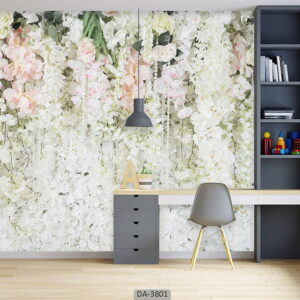 پوستر دیواری طرح گل طبیعی 3801-DA