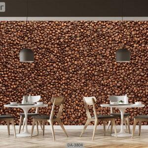 پوستر دیواری طرح قهوه 3804-DA