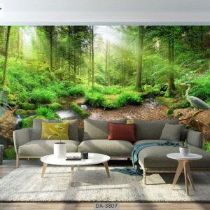 پوستر دیواری طرح جنگل 3807-DA