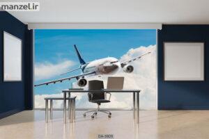 پوستر دیواری طرح هواپیما ۳۸۰۹-DA