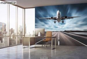 پوستر دیواری طرح هواپیما ۳۸۱۱-DA