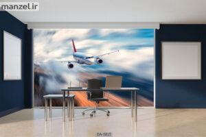 پوستر دیواری طرح هواپیما ۳۸۱۵-DA