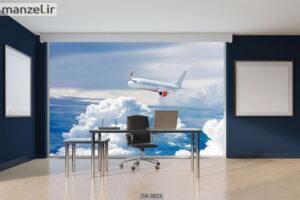 پوستر دیواری طرح هواپیما ۳۸۲۳-DA