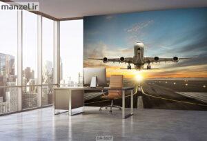 پوستر دیواری طرح هواپیما ۳۸۲۷-DA