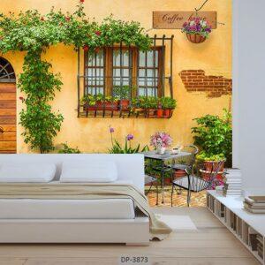 پوستر دیواری طرح ساختمان قدیمی 3873-DP