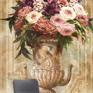 پوستر دیواری طرح گل طبیعی 3874-DP