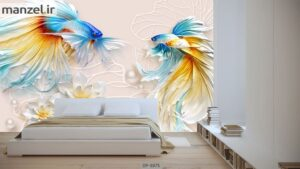 پوستر دیواری طرح ماهی ۳۸۷۵-DP