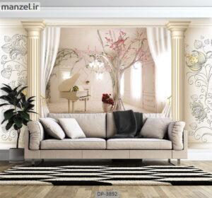 پوستر دیواری عمق دار طرح کلاسیک ۳۸۹۲-DP