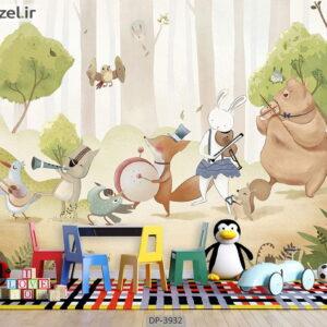 پوستر دیواری طرح کودک ۳۹۳۲-DP