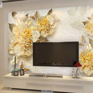 پوستر دیواری طرح گل طبیعی 3935-DP