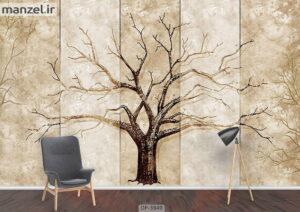 پوستر دیواری طرح درخت ۳۹۴۹-DP
