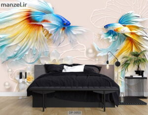 پوستر دیواری طرح ماهی ۳۹۵۳-DP