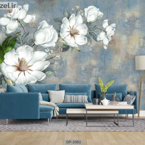 پوستر دیواری طرح گل طبیعی 3961-DP