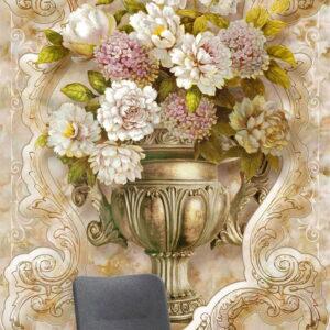 پوستر دیواری طرح گل طبیعی 3979-DP