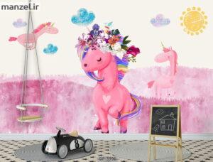 پوستر دیواری طرح کودک ۳۹۹۶-DP