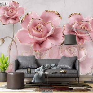 پوستر دیواری طرح گل رز 3999-DP