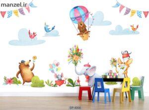 پوستر دیواری طرح کودک ۴۰۰۰-DP