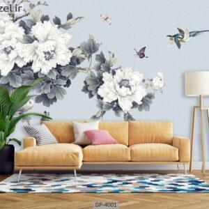 پوستر دیواری طرح گل طبیعی 4001-DP