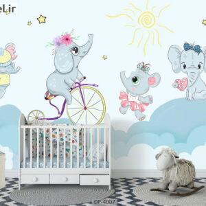 پوستر دیواری طرح کودک ۴۰۰۷-DP