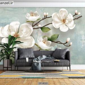 پوستر دیواری طرح گل طبیعی 4010-DP