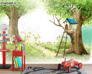 پوستر دیواری طرح کودک ۴۰۲۲-DP