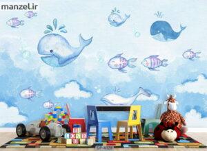 پوستر دیواری طرح کودک ۴۰۲۸-DP